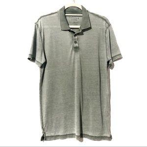 Lucky Brand Venice Burnout Collar Size Medium